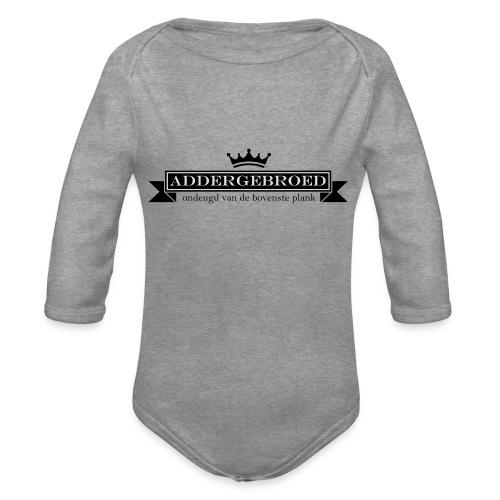 Addergebroed - Baby bio-rompertje met lange mouwen