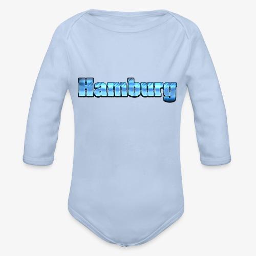 Hamburg - Baby Bio-Langarm-Body
