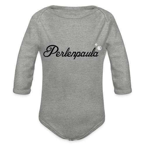 Perlenpaula - Baby Bio-Langarm-Body