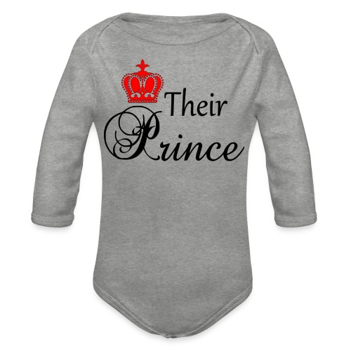 Their Prince - Ekologisk långärmad babybody
