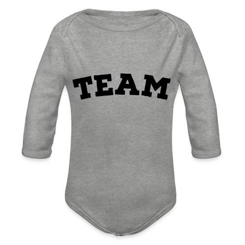 Team - Organic Longsleeve Baby Bodysuit