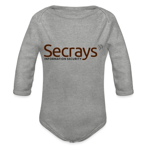 Secrays vektori logo - Vauvan pitkähihainen luomu-body