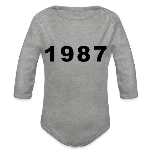 1987 - Baby bio-rompertje met lange mouwen