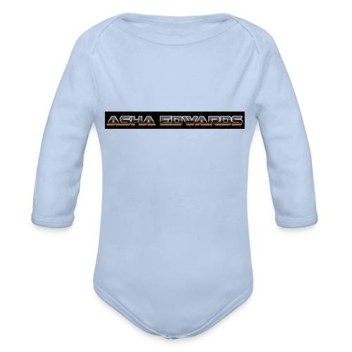 Asha_Edwards_Merch_ - Organic Longsleeve Baby Bodysuit