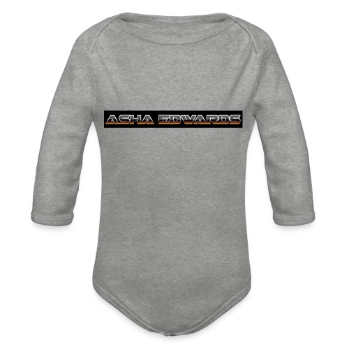 Asha_Edwards_Merch_ - Organic Longsleeve Baby Bodysuit