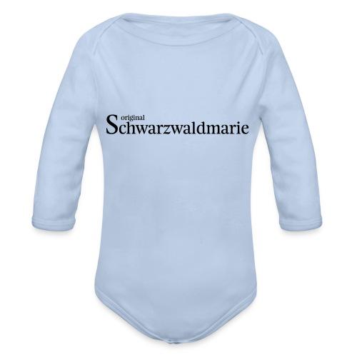 Schwarzwaldmarie - Baby Bio-Langarm-Body