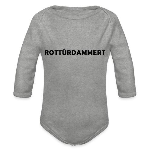 Rotturdammert - Baby bio-rompertje met lange mouwen