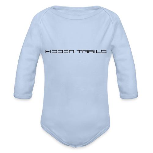hidden trails - Baby Bio-Langarm-Body