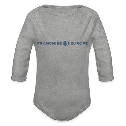 Franchise Europe t-shirt - Organic Longsleeve Baby Bodysuit