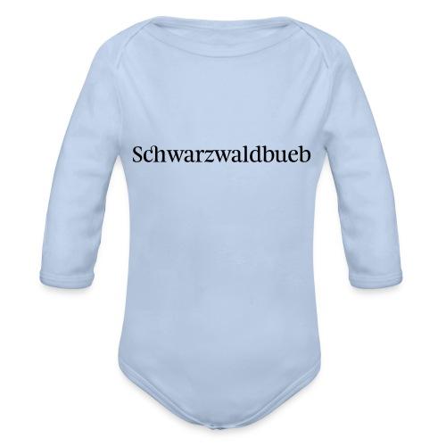 Schwarwaldbueb - T-Shirt - Baby Bio-Langarm-Body