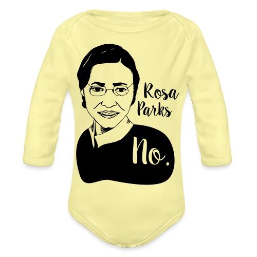 Rosa Parks - Organic Longsleeve Baby Bodysuit