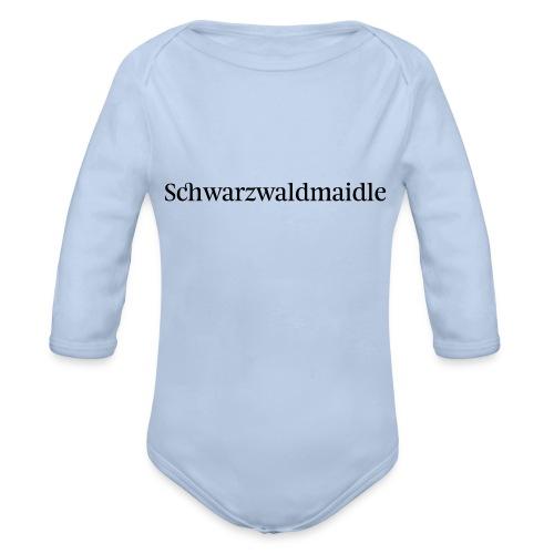 Schwarzwaldmaidle - T-Shirt - Baby Bio-Langarm-Body