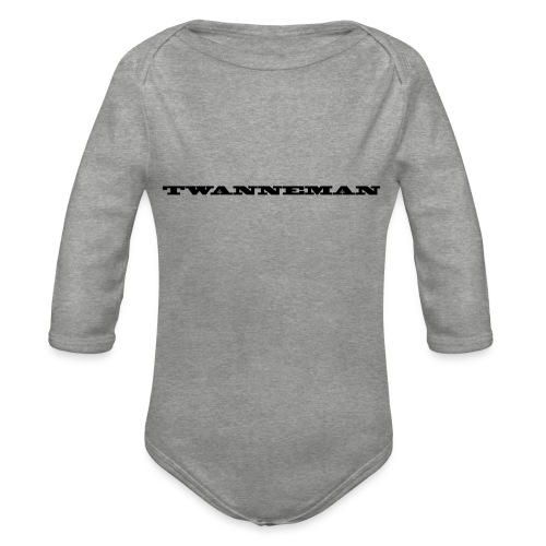 tmantxt - Baby bio-rompertje met lange mouwen