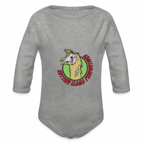 Rotting Llama Productions - Organic Longsleeve Baby Bodysuit