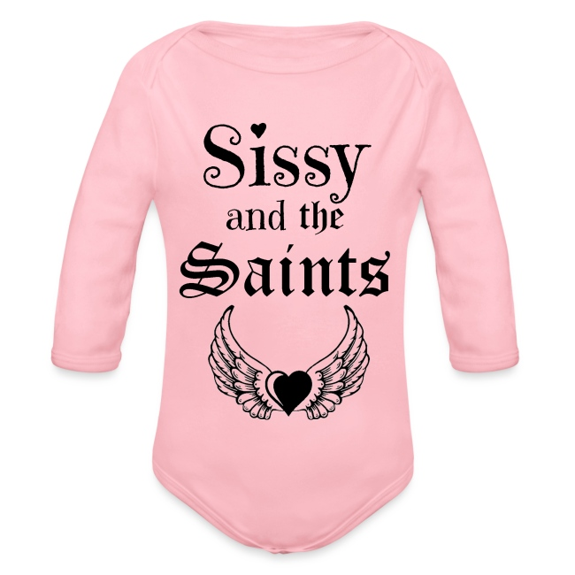 Sissy & the Saints zwarte letters