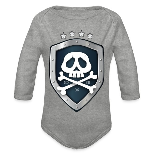 champion's league skull 06 - Body Bébé bio manches longues