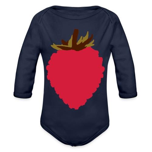 Wild Strawberry - Organic Longsleeve Baby Bodysuit