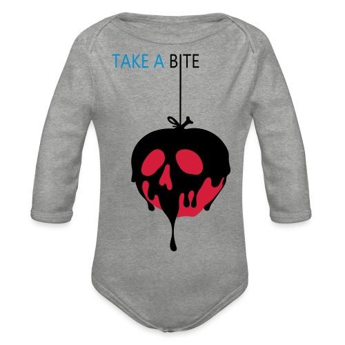 Apple Snow White Mela Biancaneve - Body ecologico per neonato a manica lunga
