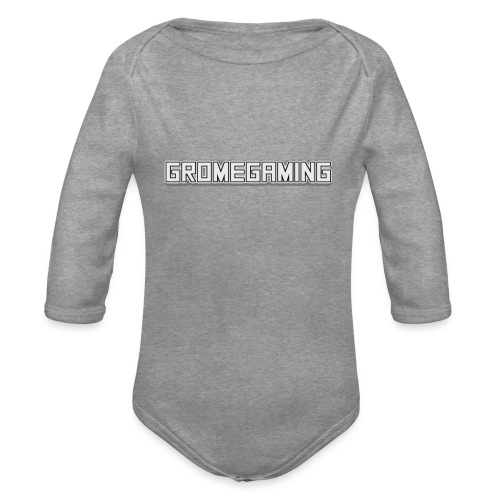 GromeGaming - Langærmet babybody, økologisk bomuld