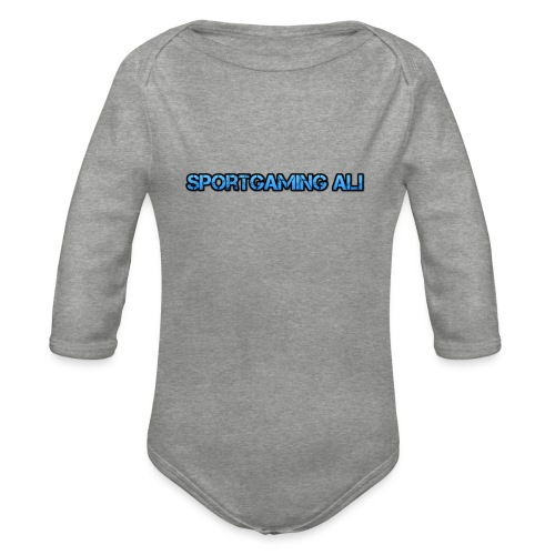 SportGaming Ali - Organic Longsleeve Baby Bodysuit