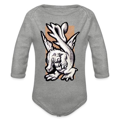 dragolino - Body ecologico per neonato a manica lunga