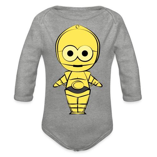 C-3PO - Body Bébé bio manches longues