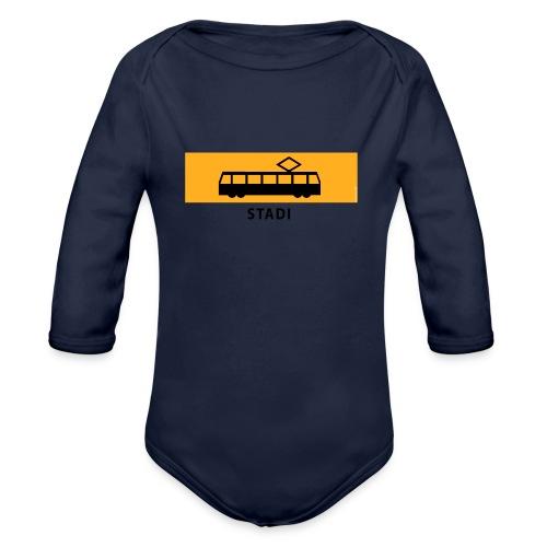 RATIKKA PYSÄKKI KYLTTI STADI T-paidat ja vaatteet - Vauvan pitkähihainen luomu-body