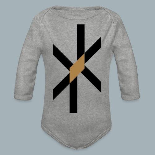 Orbit Premium T-shirt - Baby bio-rompertje met lange mouwen