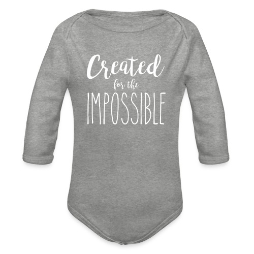 Created for the impossible - Baby Bio-Langarm-Body
