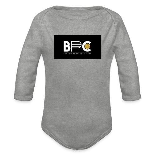 Bilpcoin bpc - Organic Longsleeve Baby Bodysuit