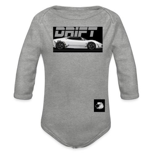 a aaaaa fghjgdfjgjgdfhsfd - Organic Longsleeve Baby Bodysuit