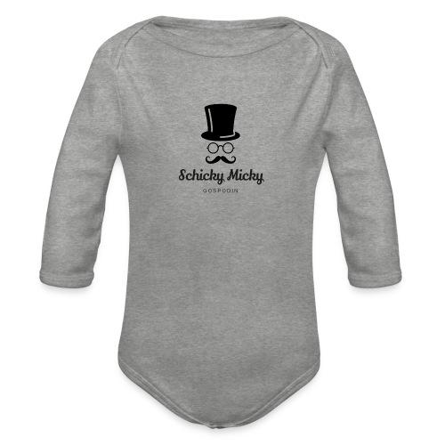 Schicky Micky klassisch - Baby Bio-Langarm-Body