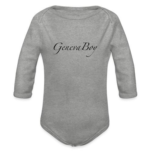 GenevaBoy - Body Bébé bio manches longues