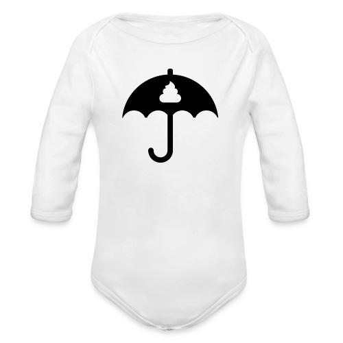 Shit icon Black png - Organic Longsleeve Baby Bodysuit