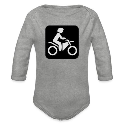 motorcycle - Vauvan pitkähihainen luomu-body