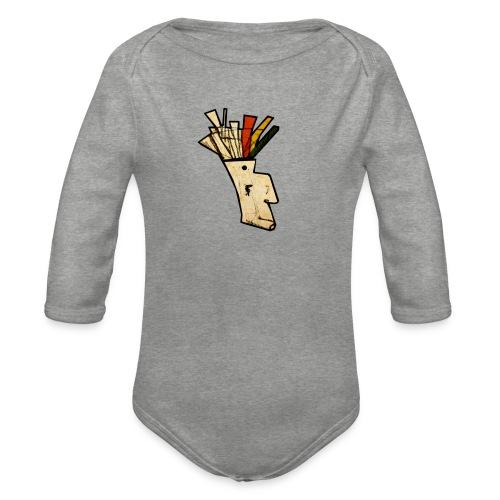 Indian - Organic Longsleeve Baby Bodysuit