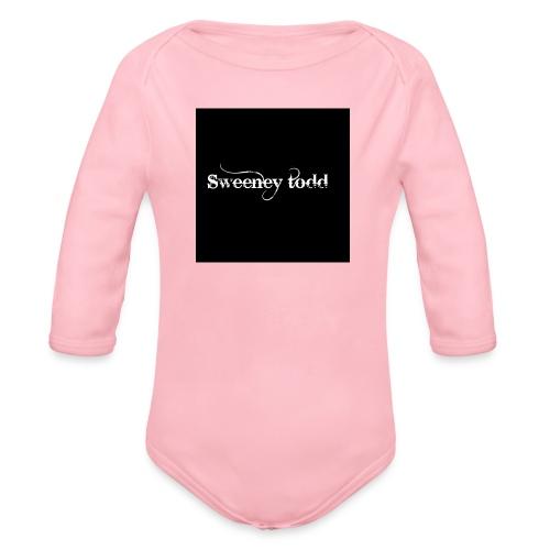 Sweney todd - Langærmet babybody, økologisk bomuld
