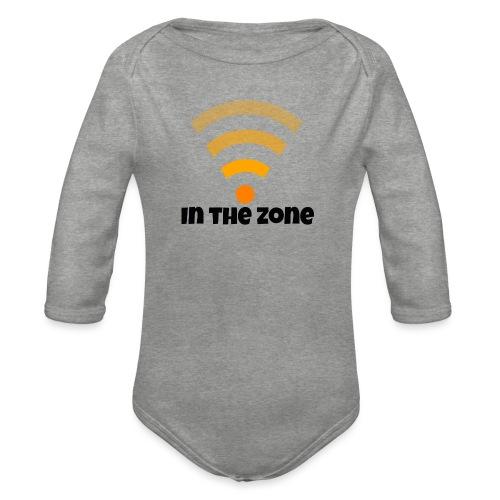 In the zone women - Baby bio-rompertje met lange mouwen