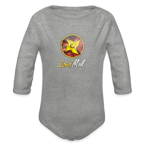 LordMuk shirt - Langærmet babybody, økologisk bomuld