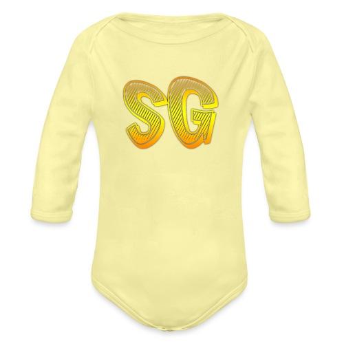 SG Donna - Body ecologico per neonato a manica lunga