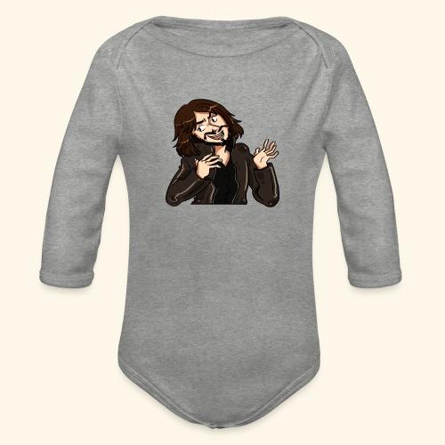 LEATHERJACKETGUY - Organic Longsleeve Baby Bodysuit