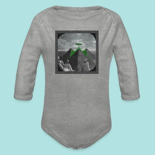 Invaders_sized4t-shirt - Organic Longsleeve Baby Bodysuit