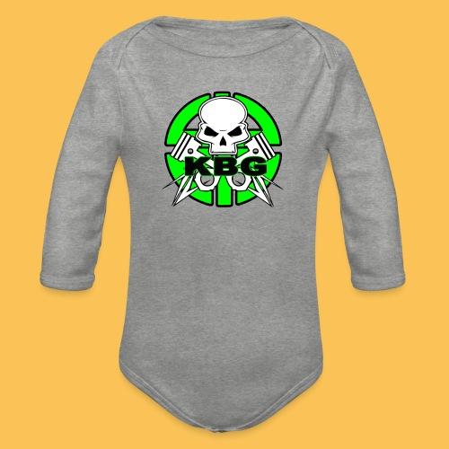 Abbigliamento sportivo KBG - Body ecologico per neonato a manica lunga