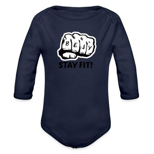 Sport tøj - Langærmet babybody, økologisk bomuld