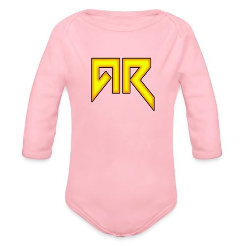 logo_trans_copy - Organic Longsleeve Baby Bodysuit