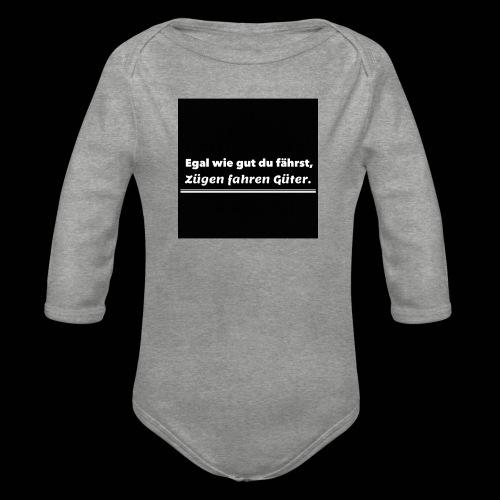 T-Shirt - Baby bio-rompertje met lange mouwen