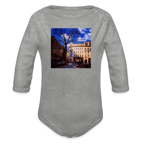 Budapest - Baby Bio-Langarm-Body