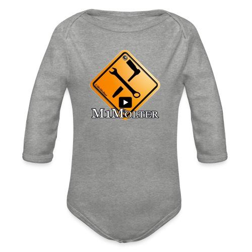 M1Molter logo - Baby Bio-Langarm-Body