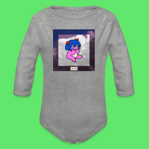 le nice girl - Organic Longsleeve Baby Bodysuit