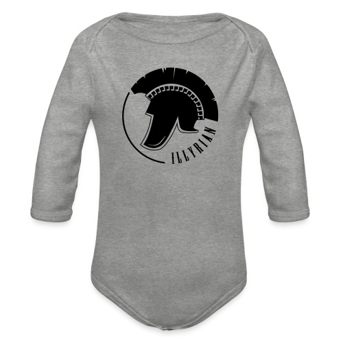 Illyrian Helmet Patrioti - Baby Bio-Langarm-Body
